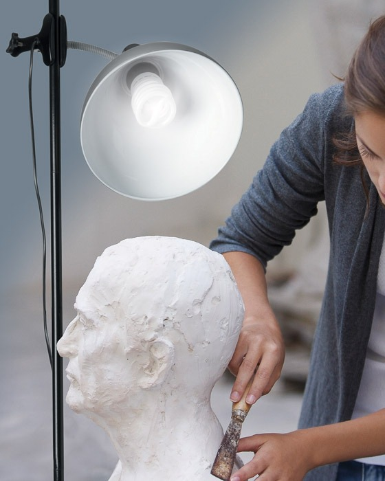 daylight lamps for artists